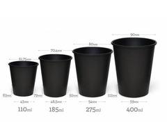 Одношарові стакани ВLACK (CS)