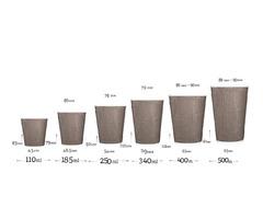Гофровані стаканчики CS