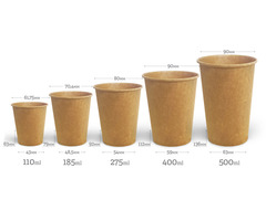 Стакан для кави Крафт Євро FC